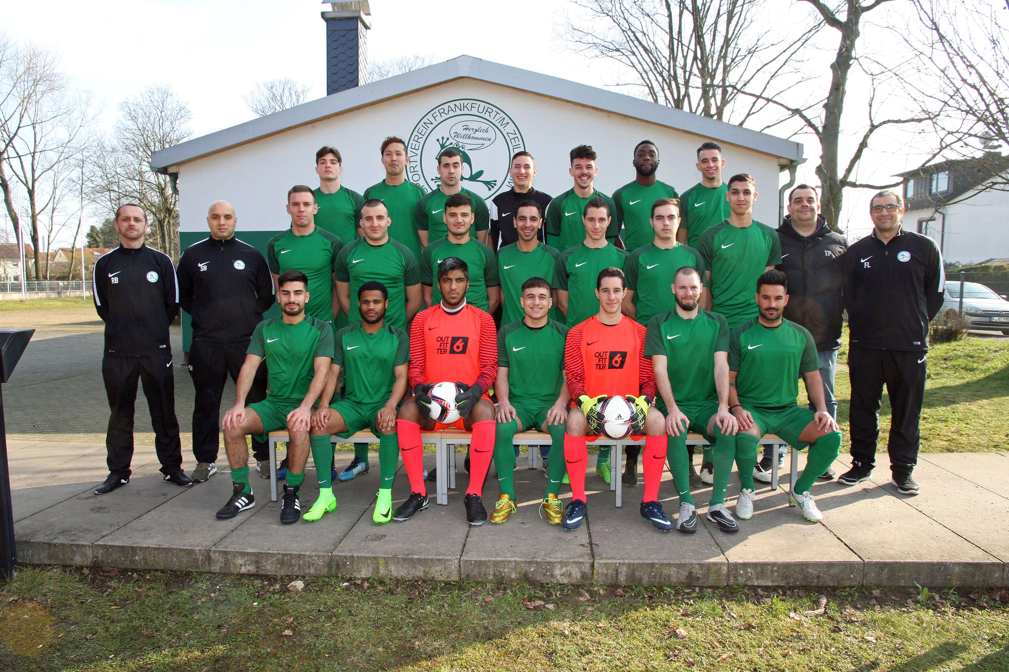 2. Mannschaft des SV 1919 Zeilsheim in der Saison 2017/2018