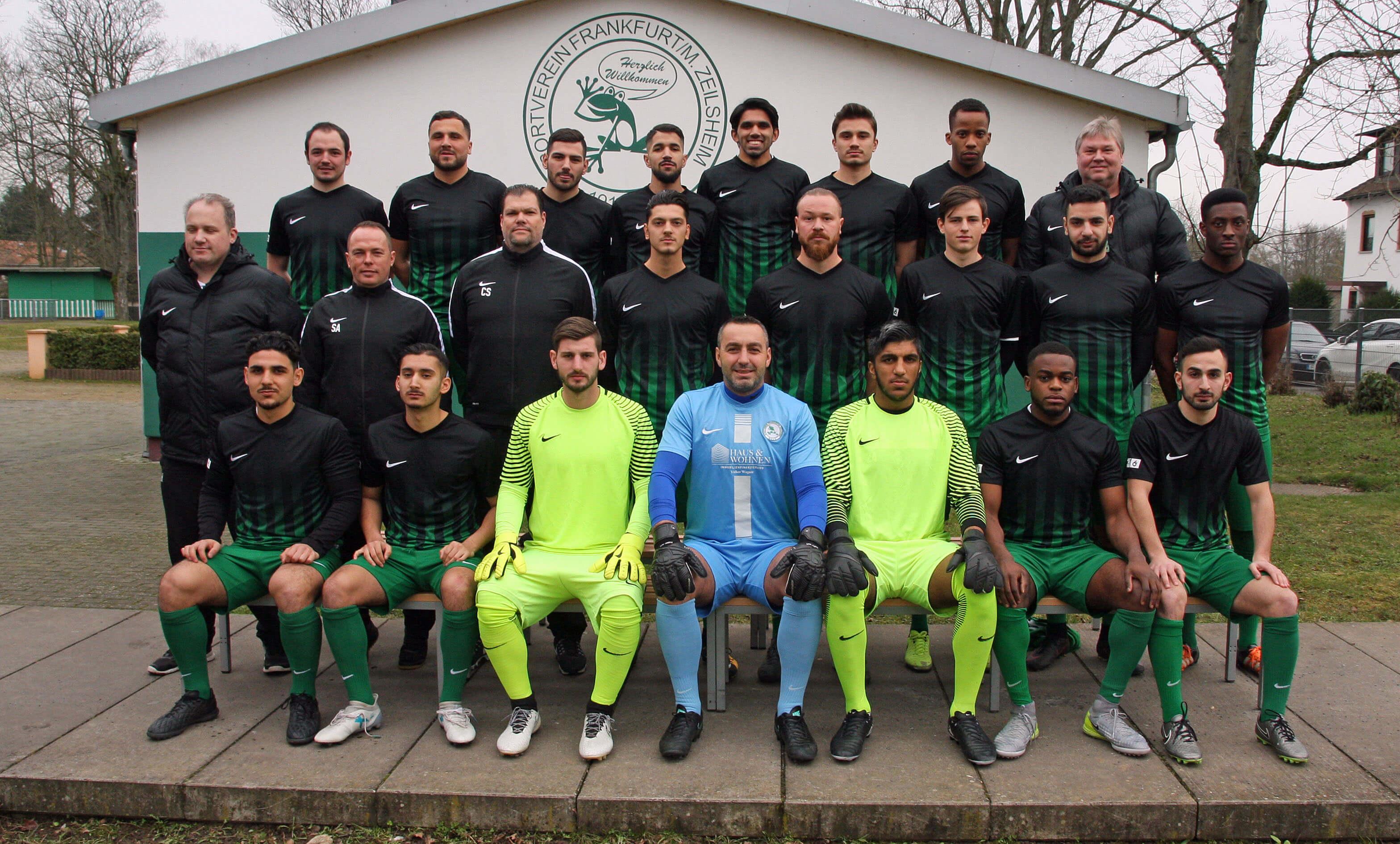1. Mannschaft des SV 1919 Zeilsheim in der Saison 2017/2018