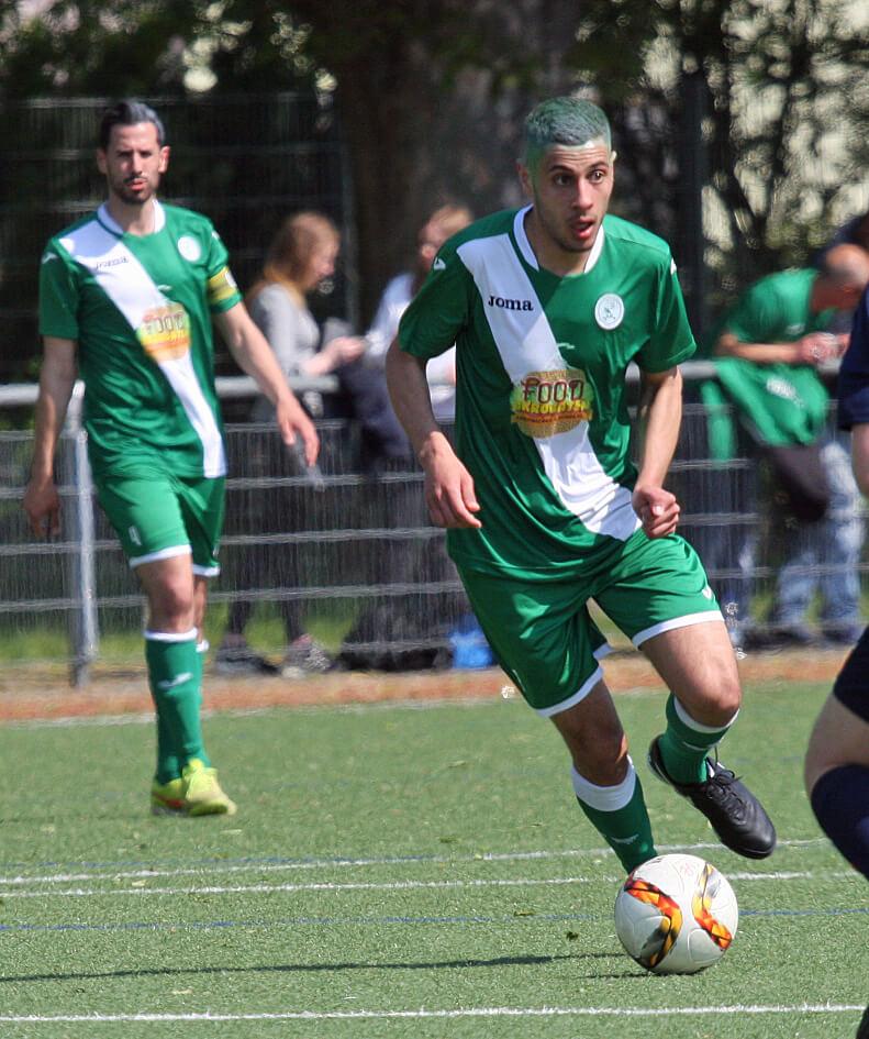 Reda Elouardani erzielte seinen 5. Treffer und hat die meisten Spieleinsätze beim SV in dieser Saison!