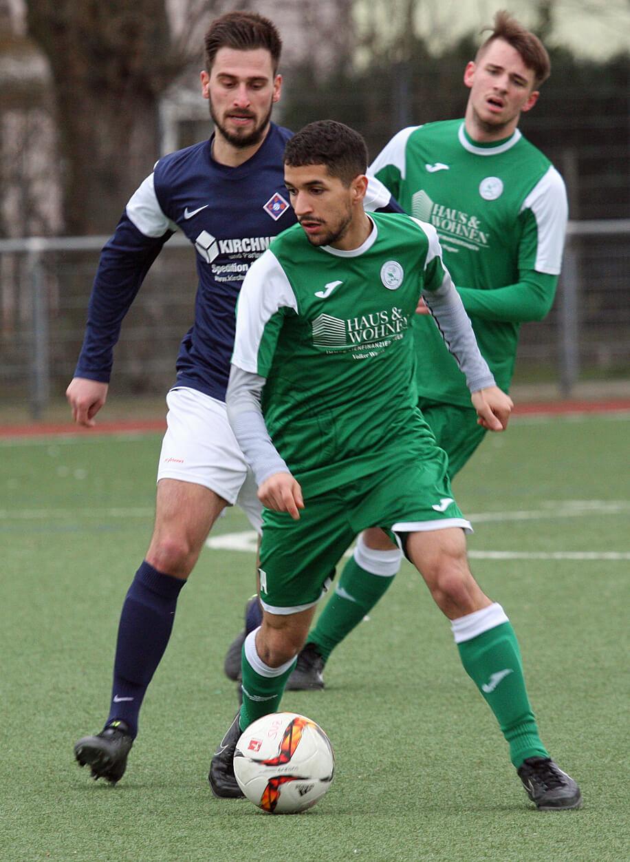 Hamza Bouchen zeigte eine Klasseleistung in Wildsachsen und war 2-facher Torschütze!