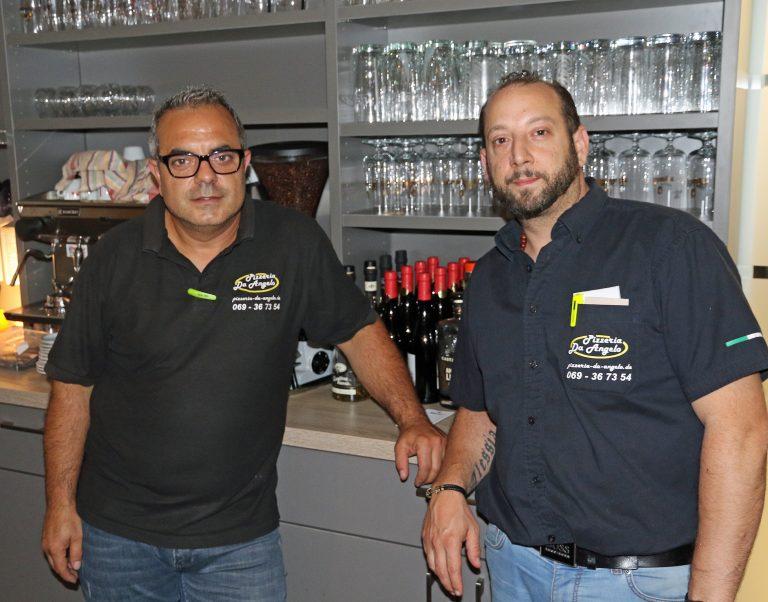 v.l. Enzo- und Franco La Porta sorgen im Servicebereich für Qualität